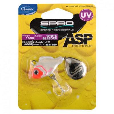 Spro ASP Spinner UV White Bleeder (18g)