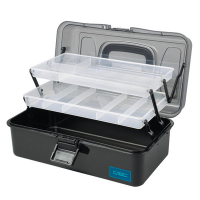 TACKLEBOX 2-TRAY L 32.5 X 19.0 X 14.6 CM