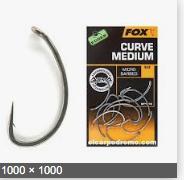 Fox Edges Armapoint Curve shank size 4