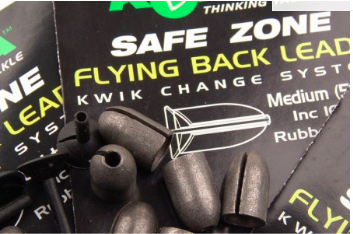 Flying Backleads Medium 5 gram - 6 Per Pack