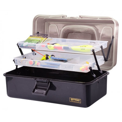 "Spro Tackle Box 2-Tray ""L"" (32,5x19x14,6cm)"